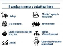 !0 consejos para aumentar la productividad